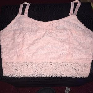 Bralette flower print NEVER WORN WAS TOO SMALL